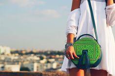 Andra Oprea bag, Diana Flore Dress Who What Wear, Fashion Backpack, Diana, Backpacks, Traditional, Dress, Fashion Design, Bags, Travel