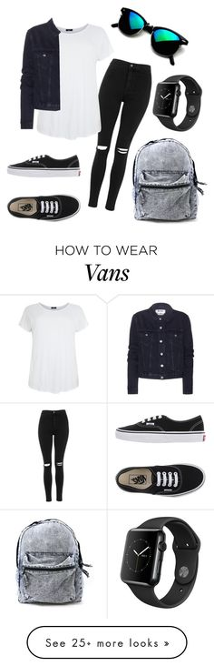 """""""My fav outfit ❤️"""" by eemaj on Polyvore featuring Topshop, Acne Studios and Vans"""