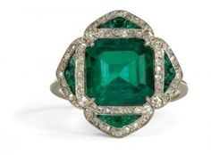 antique emerald by trudy