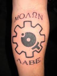 Molon Labe/AR bolt face