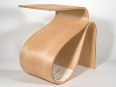 Giovanni Castillo is raising funds for A bent plywood end table on Kickstarter! The is a bent plywood end table. The design is inspired by the mid-century modernist masters. Bending Plywood, Steam Bending Wood, Furniture Repair, Furniture Making, Furniture Design, Plywood Table, Plywood Furniture, Plywood Design, How To Bend Wood