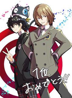 Akira, Akechi, & Morgana | Persona 3