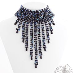Inspiration - Bead Jewelry by Lillian Bann featured in recent Bead-Patterns.com Newsletter