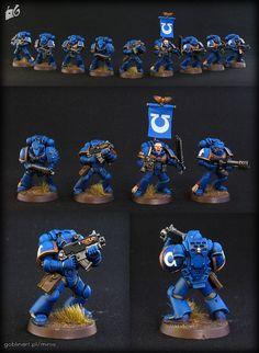 Ultramarine Tactical Squad