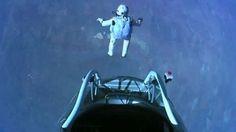 Uzaydan 41 kilometrelik atlayış