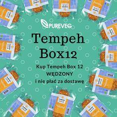 Tempeh Box12 Wędzony -12 szt tempehu BIO wędzonego w drewnie ekologicznym i bez kosztów przesyłki. Dostępny na www.pureveg.pl  #tempeh #tempehwedzony #tempehbio #pureveg #bezkosztow #paczkagratis