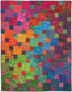 Xanadu Quilt Kit to Make DIY Designed by Janine Burke for Designs by jb This is a quilt to make. It is not a finished product. There are 24,