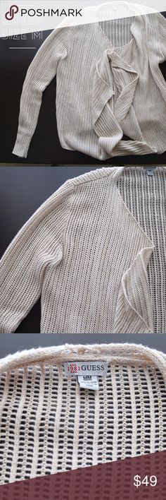 Guess Cardigan Size M Guess Cardigan Size M Guess Sweaters Cardigans