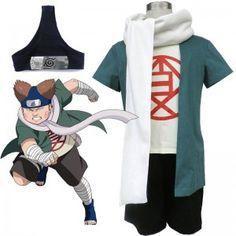 Naruto Choji Akimichi Cosplay Costume Halloween Costumes Role Play