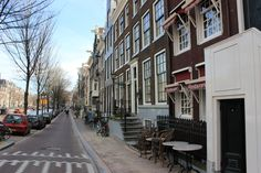 The streets of Amsterdam are constatnly clean and well-kept #upkeep.