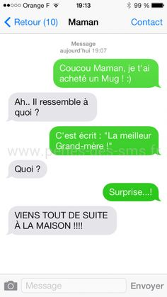 Perles des SMS - Le meilleur du pire des SMS ! Funny Sms, 9gag Funny, Funny Messages, Text Messages, Funny Texts, Funny Jokes, Memes Humor, Funny Friday Memes, Friday Humor