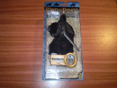 Lord of the Rings Action Figure New Sealed Ringwraith RARE | eBay