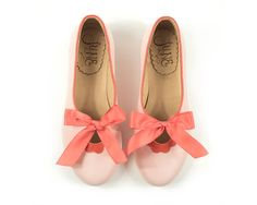 Hey, I found this really awesome Etsy listing at https://www.etsy.com/ie/listing/465183454/flora-pink-leather-ballet-flats-in-pink