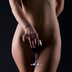 Prompt wine naked nude woman excellent answer