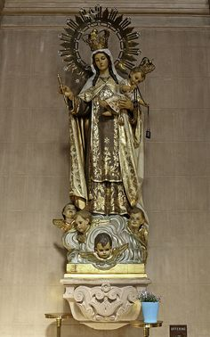 """rockchickana: """"Our Lady of Mount Carmel by Lawrence OP on Flickr. """""""