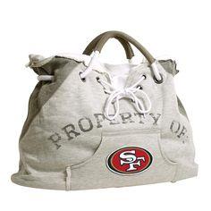 San Francisco 49ers NFL Property Of Hoodie Tote