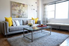 Color Me Happy - This Chelsea 1BR makes clean and simple look vibrantly delicious @Homepolish NYC