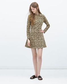 ZARA - PROMOTIONS - FLARED DRESS