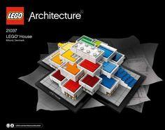 21037 LEGO Architecture Lego House Exclusive Billund Denmark FACTORY SEALED