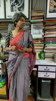 Blouse Patterns, Saree Blouse Designs, Big Broder, Kalamkari Designs, Formal Saree, Modern Saree, Trendy Sarees, Saree Look, Elegant Saree