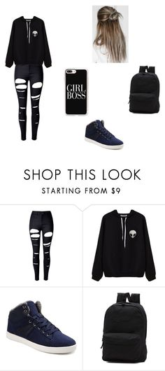 """my future closet15"" by kayltjevds05 on Polyvore featuring mode, WithChic, Vans en Casetify"