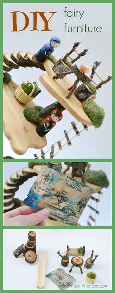 DIY Fairy Furniture: