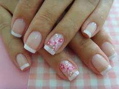 Resultado de imagen para uñas decoradas con flores de puntos