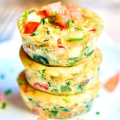Make these veggie-loaded egg muffin cups for a quick and healthy breakfast. #healthyrecipes #breakfastrecipes #everydayhealth | everydayhealth.com
