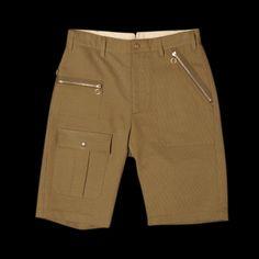 Woolrich Woolen Mills Camper Short - Moss