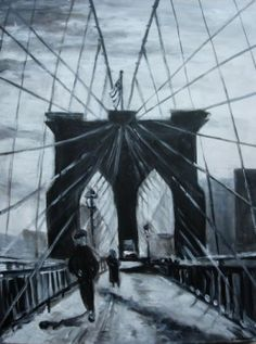 brooklyn bridge by Jeanette Herbert