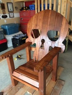 Wooden Skull Chair Target Counter Height Chairs Desirable Items 6 I Want Thaaaat 35 Photos Porch Furniture Making
