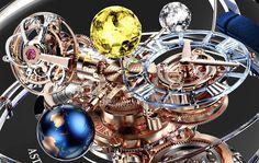 A Jacob & Co. apresenta o Astronomia Flawless, nova versão de seu emblemático turbilhão de triplo eixo.