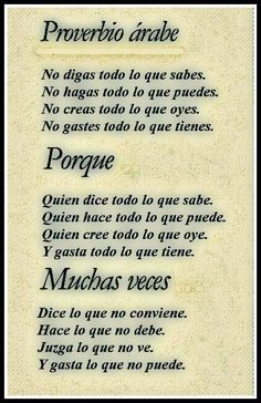 How To Speak Spanish Quickly The Words, More Than Words, Spiritus, Little Bit, Spanish Quotes, Spanish Inspirational Quotes, Sentences, Life Lessons, Positive Quotes