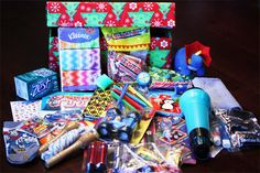 Operation Christmas Child Shoe Box Ideas for a Boy Christmas Child Shoebox Ideas, Operation Christmas Child Shoebox, Christmas Crafts For Kids, Christmas Activities, Christmas Time, Christmas Gifts, Christmas Ideas, Christmas Boxes, Holiday Fun