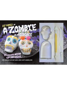 Whip up some creepy confections with this clever Zombie Cupcake kit - who wants the same old sappy cupcakes when you can scare the living daylights out of friends and family with bloodcurdling and spine-tingling cupcakes not seen anywhere else!