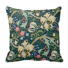 Golden Lilies Pillow