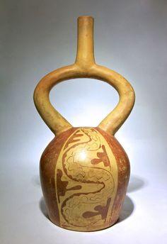 EX Sothebys Pre Columbian Moche Vessel with Serpents 500 Ad | eBay