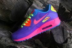 Colorful Air Max. Love these colors Pinterest: PaigeCamillia