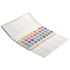 Akvarelové barvy White Nights / 36 dílný set