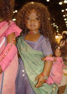 Image detail for -Annette Himstedt Dolls at Toy Fair 2005