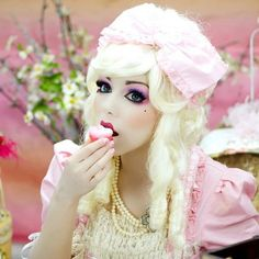 YouTube.com/user/charismastar  #doll #girl #marieantoinette