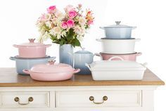 Limited Edition Chiffon Pink Le Creuset - Google Search