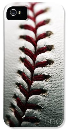 Stitches I iPhone and Galaxay Case by John Rizzuto