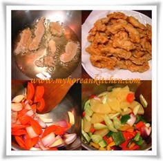 Korean Sweet & Sour Chicken (Tangsuyuk)