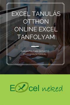 Az Excel tanulás otthon sosem volt ilyen egyszerű, mint most. Elég egy internetkapcsolattal rendelkező számítógép, és máris kezdheted fejleszteni Excel tudásodat. Learning Methods, Digital Citizenship, Tatoos, Study, Teaching, Studio, Studying, Education, Research