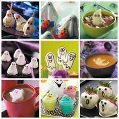 Ghost Halloween Party Recipes from Taste of Home
