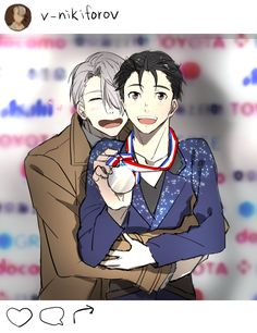 I think he will win silver and Viktor will be proud either way!Viktor and Yuuri | Yuri!!! on Ice