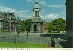 Hahnemuhle PHOTO RAG Fine Art Paper (other products available) - The Front Square, Trinity College, Dublin, Republic of Ireland. Date: - Image supplied by Mary Evans Prints Online - Fine Art Print on Paper made in the UK Trinity College Dublin, Fine Art Prints, Canvas Prints, Connemara, Picture Postcards, Republic Of Ireland, Dublin Ireland, Photographic Prints, Wonderful Images