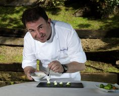 Martín Berasategui. Chef of the Lasarte Restaurant