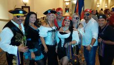 YPN Pirates rock it out at Float competition 2014 in Orlando FL